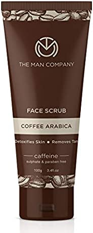 The Man Company Caffeine Face scrub with Coffee Arabica-100 gm | Made in India