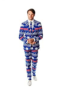 Opposuits The Rudolph Christmas Costume Suit (UK 38/ EU 48)