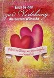 Glückwunschkarte Zur Verlobung - Euch beiden die besten Wünsche - DEP018