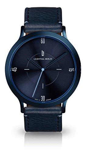 Lilienthal Berlin Urbania All Blue   Unisex Armbanduhr in Blau   Made...