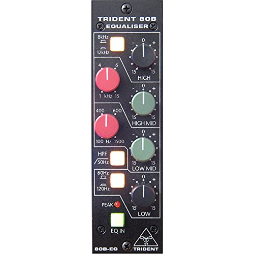 Trident-serie (Series 80B- EQ500 4-Band EQ im 500er Format)