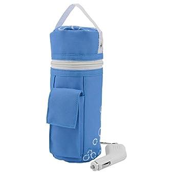 H + H BS 13babykostwärmer avec fonction maintien au chaud, Mobile Baby chauffe-biberons Bleu