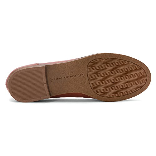 Tommy Hilfiger Letyan Cuir Mocassin Medium Brown