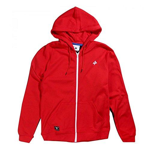 LRG Men's Mile High Full Zip Hoodie Red M