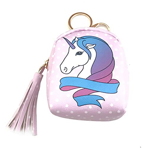 Kentop Monedero Patrón Unicornio Bolsa Almacenamiento