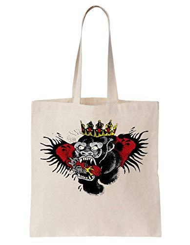 PasTomka Conor Monkey Tattoo Schultertasche Tote Bag
