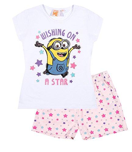 Pijama mangas cortas – Blanco