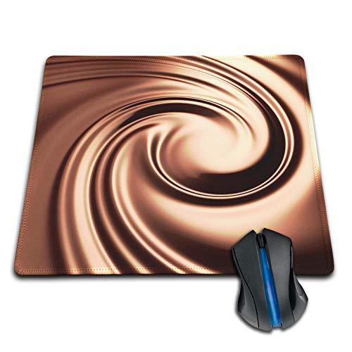 YWSZY-Mouse Pad Einfaches Design personalisierte Gummi-Mauspad Schokolade langlebig Laptop Gaming-Mauspad @ Lock_Edge_20x25cm - Extreme Xxl Schokolade