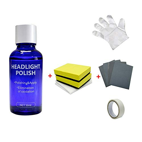 Cutogain Scheinwerferreparaturmittel, High Density Headlight Polish Liquid Autowiederherstellungsflüssigkeit Durable Car Repairing Kit