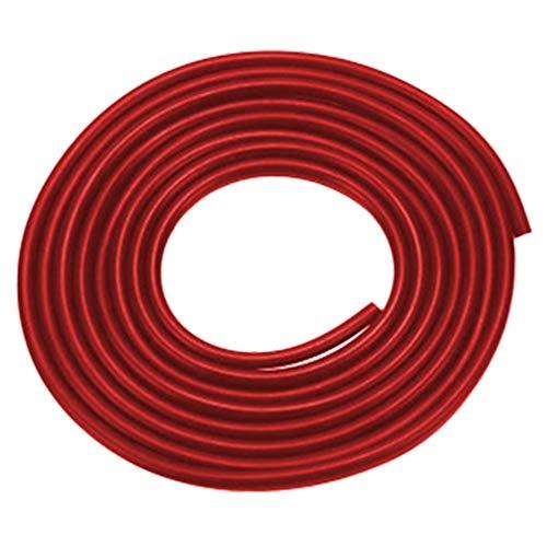 Hicollie 8 Meter U-Form AutoTür Anti-Schock Dichtungsstreifen Kratzfest Antikollisionsstreifen Tür Rand Gummidichtung Selbstklebend (Rot) U-schock