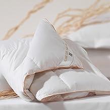 Sancarlos - Edredón nórdico plumón Confort, densidad 300 g, 92% plumón de oca, color blanco, cama 150, 240 x 220 cm