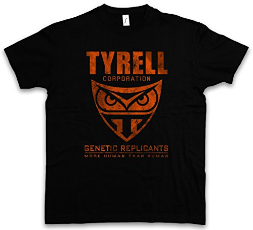 TYRELL CORPORATION T-SHIRT �?Blade Replicants Company Replikanten Runner Nexus 6 Taglie S �?5XL Nero
