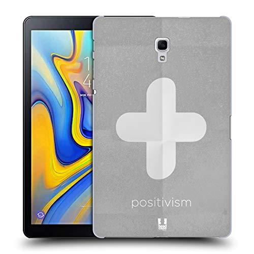 Head Case Designs Positivismus Philography Ruckseite Hülle für Samsung Galaxy Tab A 10.5 (2018)
