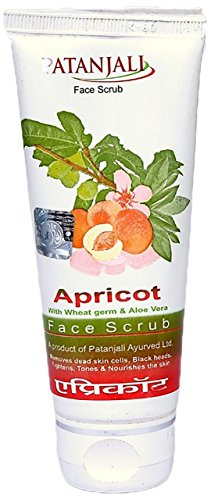Patanjali Aloe Vera Apricot Scrub (60GM, Pack of 2)