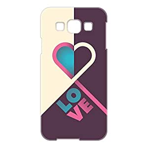 a AND b Designer Printed Mobile Back Cover / Back Case For Samsung Galaxy E5 (SG_E5_3D_1835)