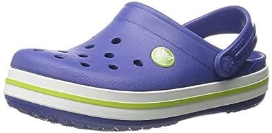 Crocs Crocband Kids - Sabots Mixte - enfant - Bleu (Cerulean Blue/Volt Green) - 19/21 EU / 4-5 J