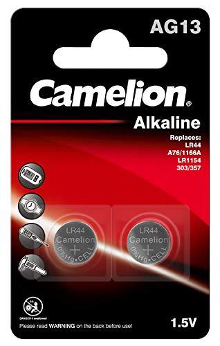 CAMELION Pile Alcaline LR44 1,5V BL2