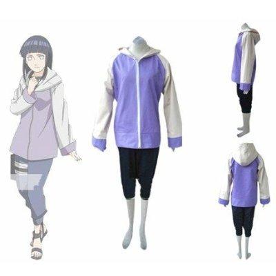 Hinata Hyuga Kostüm - Naruto Shippuden Hinata Hyuga Cosplay Kostüm