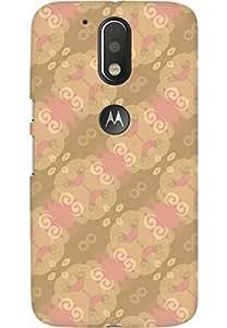 AMEZ designer printed 3d premium high quality back case cover for Moto G4 Plus (pattern)