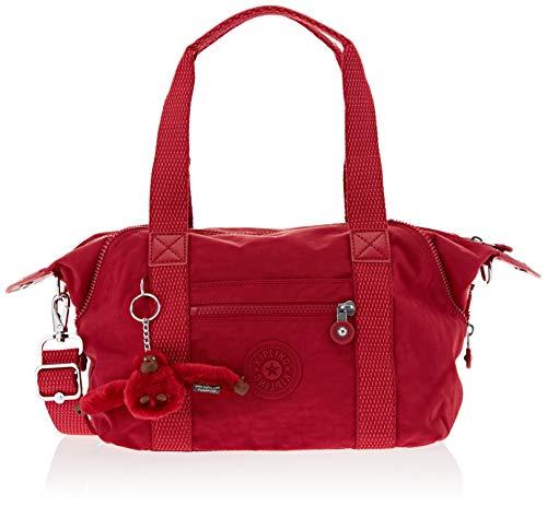 Kipling Damen Art Mini Henkeltasche, Rot (Radiant Red C), 34x21x18.5 cm