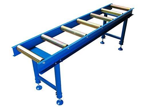 Rollenbahn Rollbahn Transportrollbahn Förderband Rollentisch mit 7 Rollen -