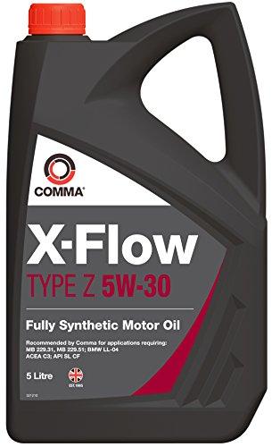 Comma xfz5l X-Flow Type Z 5 W30 Huile, 5 l