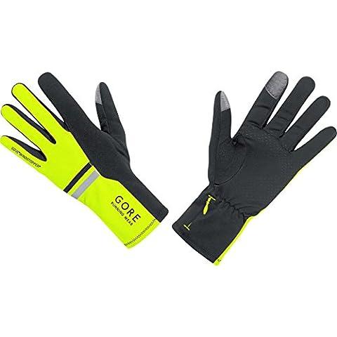 GORE RUNNING WEAR, Men's Running Gloves, Windproof, Warm, GORE WINDSTOPPER,