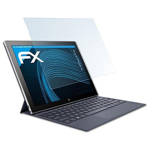 atFolix Schutzfolie kompatibel mit HP Envy x2 2018 Folie, ultraklare FX Bildschirmschutzfolie (2X)