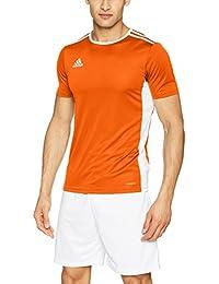 adidas Entrada 18 JSY Teamtrikot Camiseta, Niño, Naranja (Orange/White),