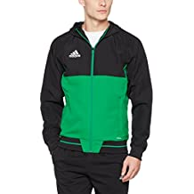 chaqueta verde adidas