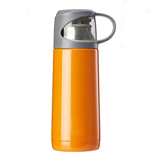 350ml Edelstahl-Isolierung Tasse männlichen Reise-Topf versiegelt Edelstahl-Tasse , active orange , 350ml