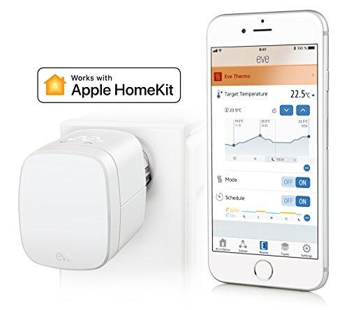 Elgato Eve Thermo - Heizkörperthermostat mit Apple HomeKit-Technologie, LED-Display, integriertes Touch-Bedienfeld, Automatische Temperatursteuerung, Keine Bridge erforderlich, Bluetooth Low Energy - Bild 7