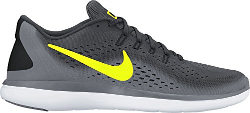 Nike Men's Free Rn Sense Running Shoe, Chaussures de Fitness Homme Multicolore (Anthracite/volt-cool Grey-black)