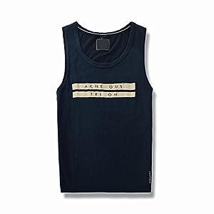 NBX Sommer Männer Casual Sport Fitness Basketball Weste Baumwolle Ärmelloses T-Shirt
