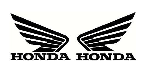 Honda Wings X 2 Pair Motorcycle Tank Helmet Panels Ect