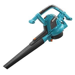 GARDENA Gartensauger-/Bläser ErgoJet 3000: Laubbläser/-Sauger mit 3000 W Motorleistung, 170 l/s Saugleistung, 310 km/h Blasgeschwindigkeit, mit Häcksler und Fangsack, inkl. Schultergurt (9332-20)