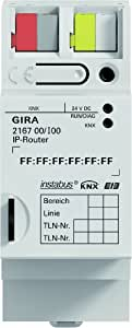 gira 216700 ip router knx eib reg baumarkt. Black Bedroom Furniture Sets. Home Design Ideas