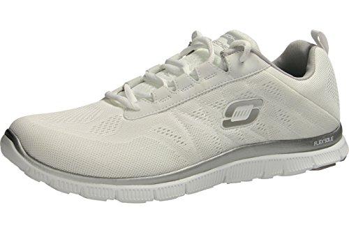 Skechers  Flex AppealSweet Spot, basket femme WSL°white/silver