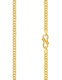 Malabar Gold and Diamonds 22KT Yellow Gold Chain for Men