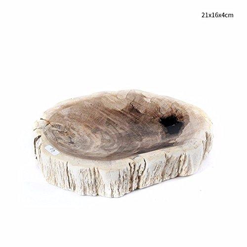 Preisvergleich Produktbild Aschenbecher kreative Persönlichkeit trend Stein praktische Jade Aschenbecher Holz Verzierungen,  EIN