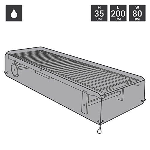 Bentley Garden - Deluxe Polyester-Abdeckplane/Schutzhülle für Sonnenliege - Wasserabweisend