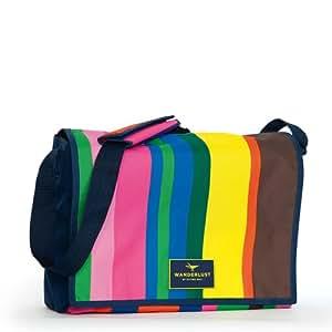 Sitting Bull Postman Tasche 39x30x12cm candy & Gratis Shopper Tasche