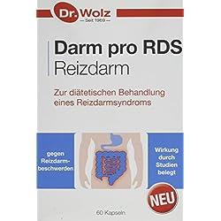 Darm pro RDS Reizdarm | Zur diätetischen Behandlung des Reizdarmsyndroms | 60 Kapseln, magensaftresistent