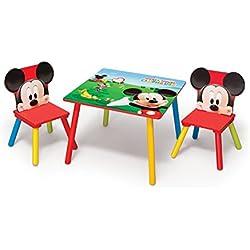 Disney - Mickey - Mesa + 2 Sillas