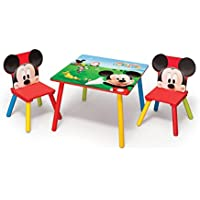 Delta Enterprises Disney - Mickey - Mesa + 2 Sillas
