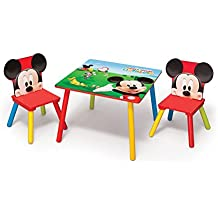 Disney - Mickey - Mesa + 2 Sillas