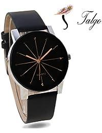 Talgo Presents Analog Black Dial Men's Watch - Crystal Men's | Fashion Wrist Watch | Men Watch