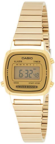 Casio Collection Damen Retro Armbanduhr LA670WEGA-9EF