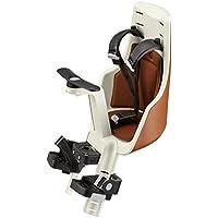 Bobike 8011000014 Exclusive mini - Asiento de niño para bicicleta con montaje frontal, marrón, S