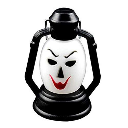 BMY Hause led-lampen, Hexe Neue Halloween Lampe tragbare hängelampe beängstigend Horror Bunte Flash led Laterne Leichter Halloween Dekorationen (1 stück) Lichter (Beängstigend Häuser Für Halloween)